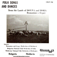Folk Songs and Dances from the Lands of Doyna and Hora