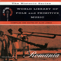 World Library of Folk and Primitive Music Vol XVII: Romania